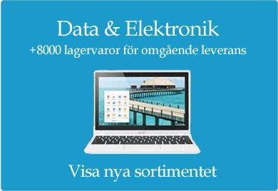 data elektronik nytt sortiment